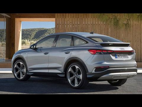 AUDI Q4 Sportback e-tron 2022 - le clip officiel