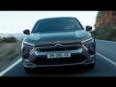 CITROEN C5 X 2022 - le film officiel