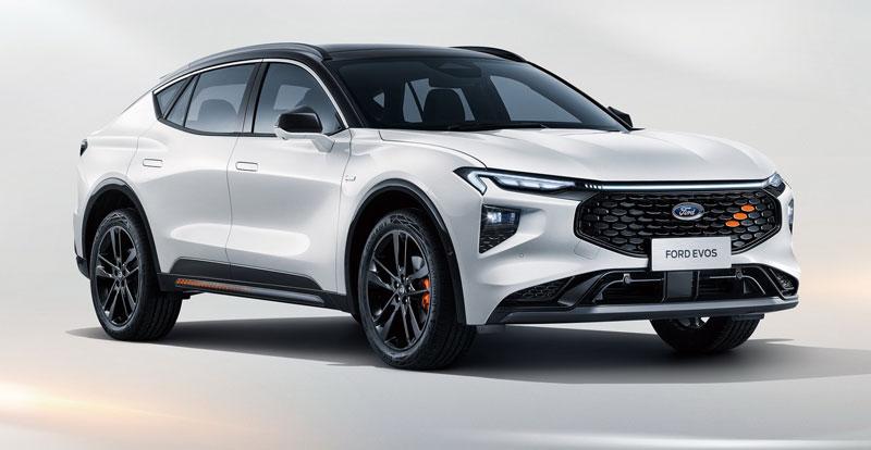 Première mondiale - FORD lève le voile sur le SUV Coupé Evos