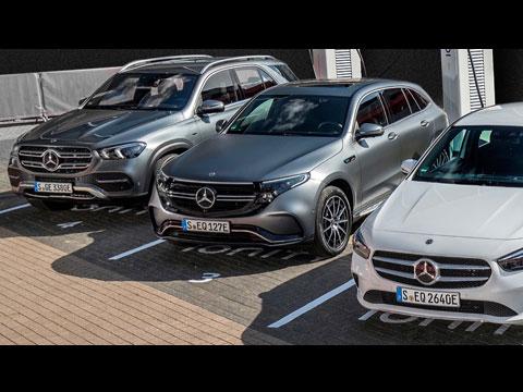 Gamme MERCEDES-Benz Hybride Maroc