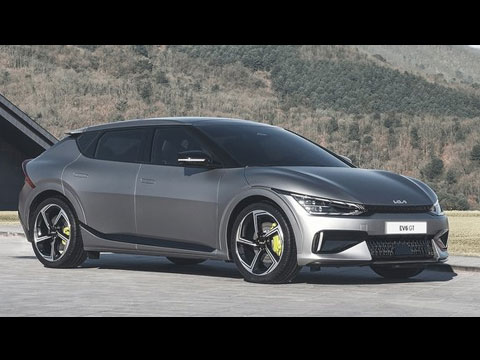 KIA EV6 GT 2022 - le film officiel