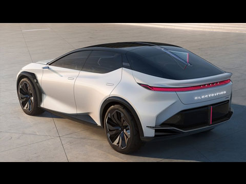 LEXUS LF-Z Electrified 2021 - les premières infos