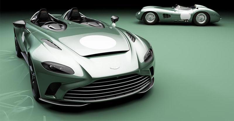 Première mondiale - ASTON MARTIN lance une série limitée de la V12 Speedster