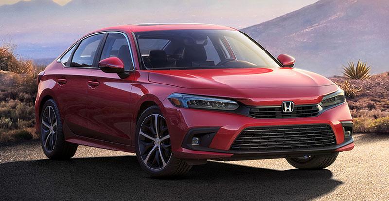 Première mondiale - HONDA Civic Sedan 2022 : la onzième génération voit le jour