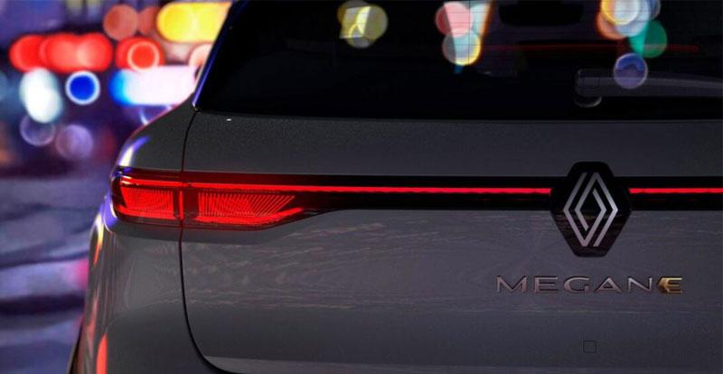 Avant-première - RENAULT a lancé la campagne de teasing de son véhicule 100% électrique MeganE E-Tech