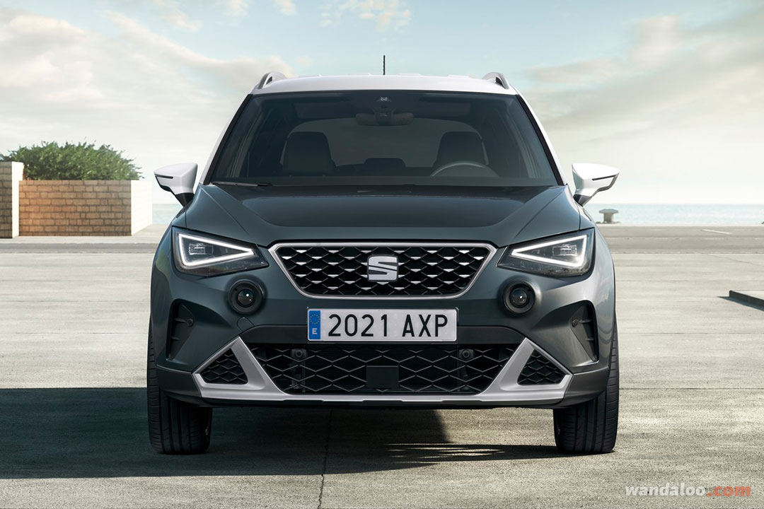 SEAT Arona facelift 2022