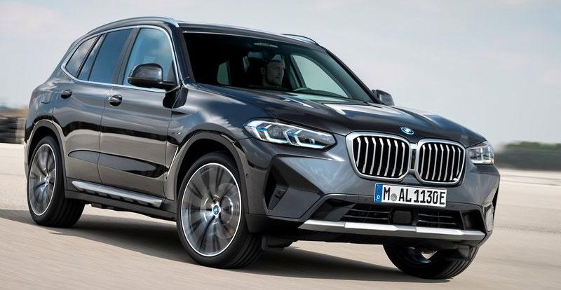 Avant-première - Cure de jouvence pour le nouveau BMW X3 2022