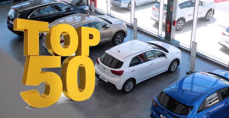 Marché - TOP 50 des meilleures ventes des voitures neuves au Maroc à fin mai 2021