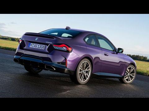 BMW Série 2 Coupé 2022 - le spot officiel