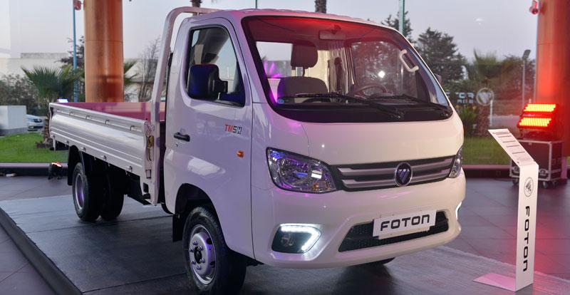 Actu. nationale - Africa Motors lance au Maroc  la marque de camions FOTON