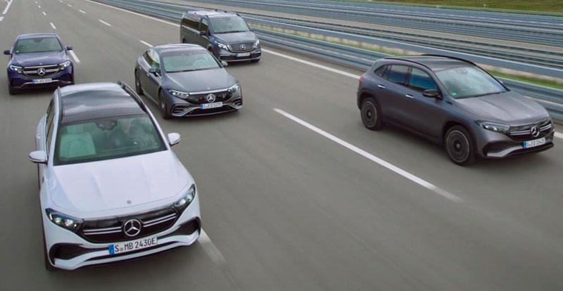 Actu. internationale - MERCEDES-Benz se met au 100% électrique avant 2030 !