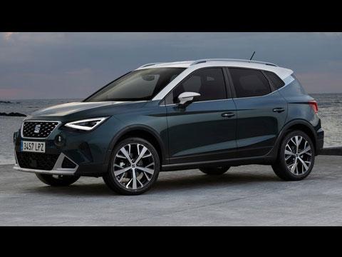 Nouveau SEAT Arona facelift 2022 - le spot officiel