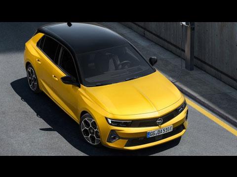 OPEL Astra 2022 - les premières infos