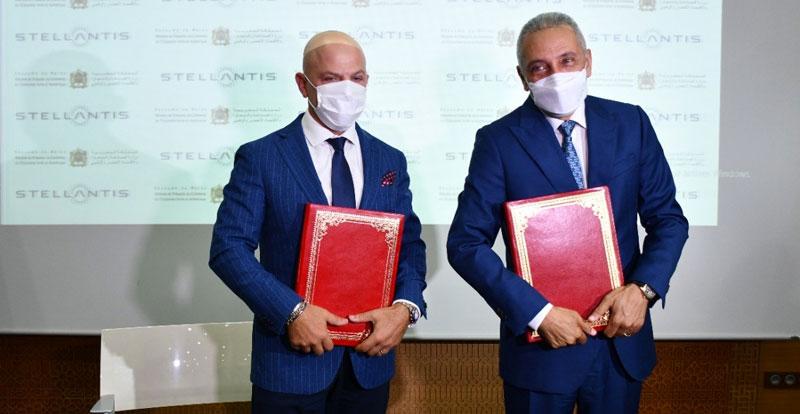 Actu. nationale - Nouvelle étape dans la stratégie industrielle du Groupe Stellantis au Maroc