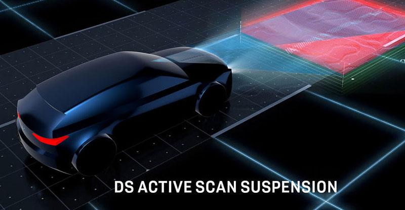 Le DS ACTIVE SCAN SUSPENSION est l'une des exclusivité DS dans le segment des compactes Premium