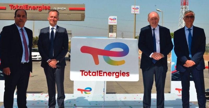 Actu. nationale - Total Maroc devient TotalEnergies Marketing Maroc