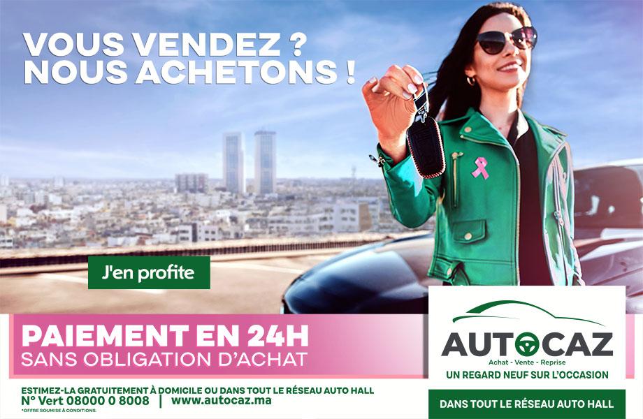 neuve en promotion au Maroc