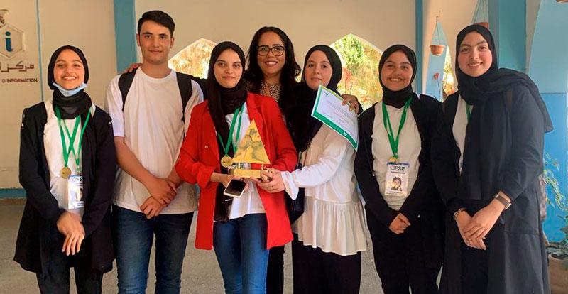Actu. nationale - Le « Prix de l'écocitoyenneté 2021 » VIVO Energy Maroc décerné pour la première fois à des lycéens