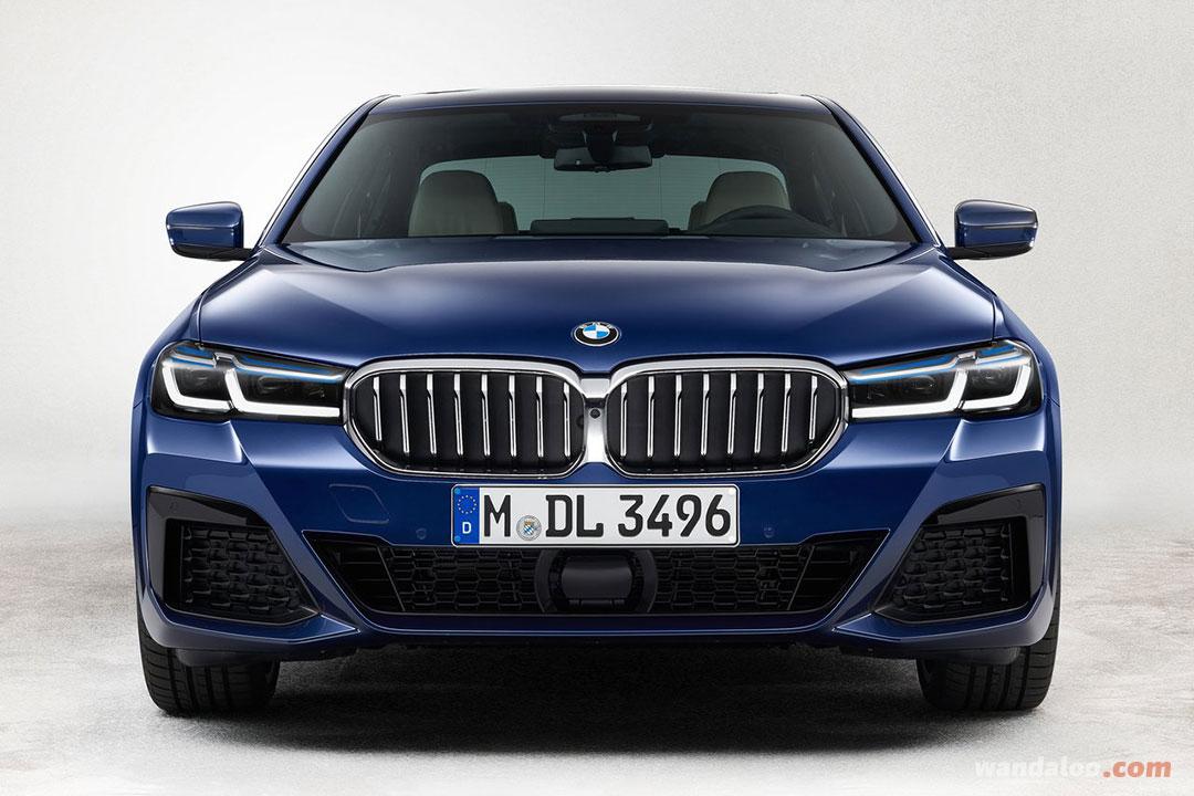 BMW Série 5 2021 facelift Maroc
