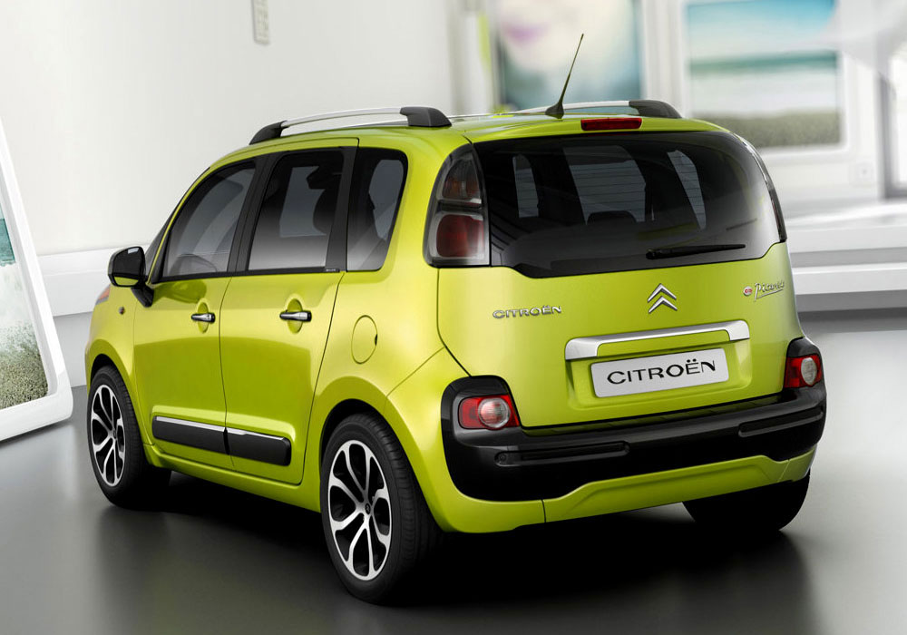 citroen c3 picasso en photos hd. Black Bedroom Furniture Sets. Home Design Ideas