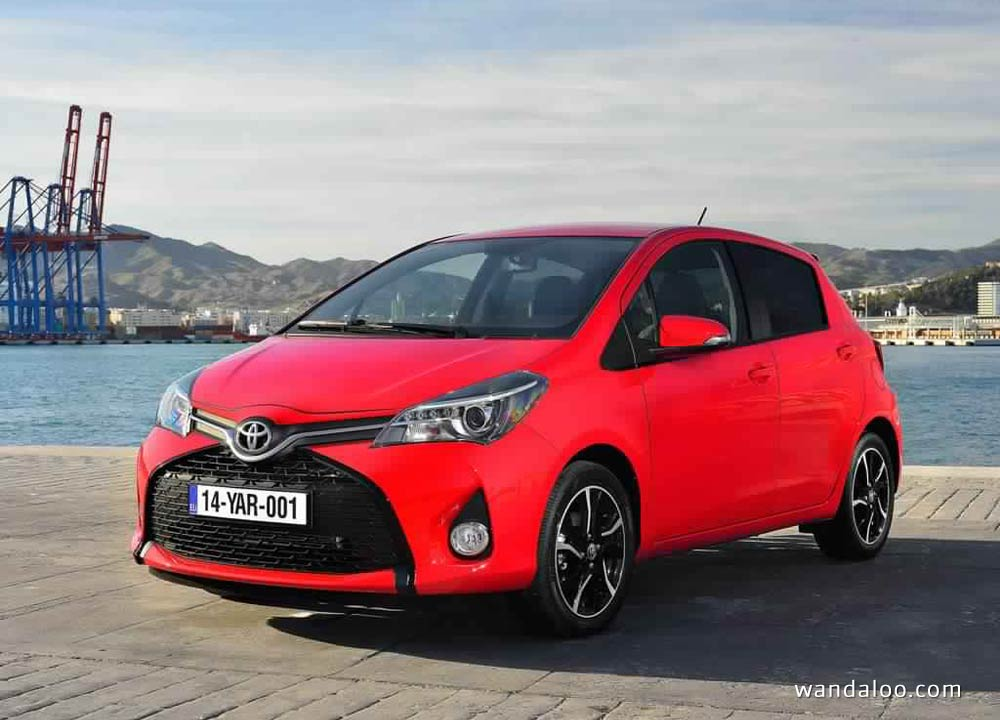 toyota yaris en photos hd. Black Bedroom Furniture Sets. Home Design Ideas